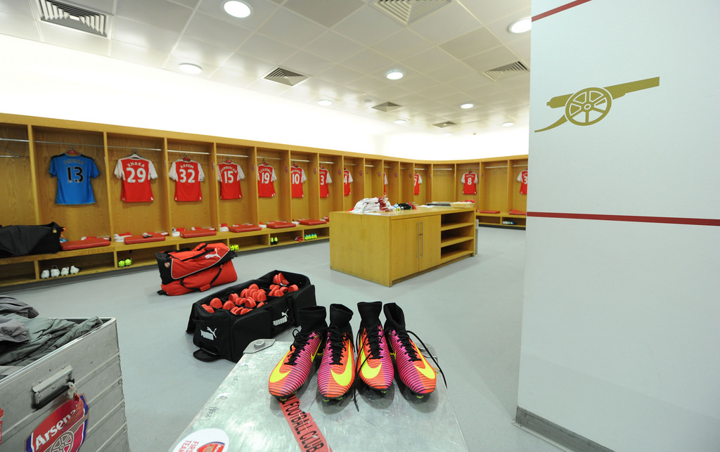 Arsenal star reveals what happened in the dressing room during half-time on Thursday