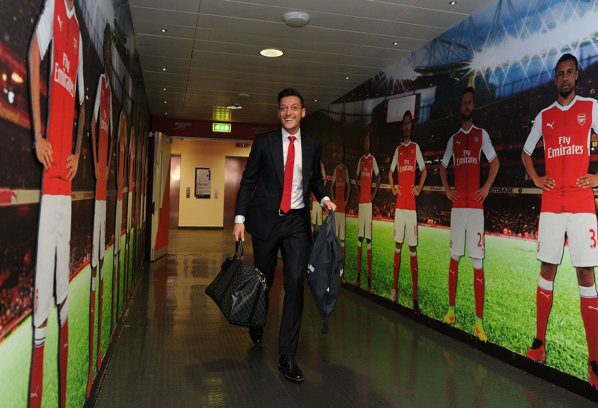 His last derby before leaving? Mesut Ozil's new post on social media ahead of Tottenham