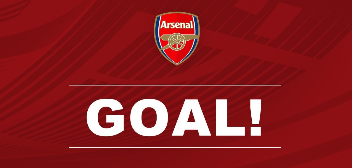 GOAL! Theo Walcott scores for Arsenal vs Sutton