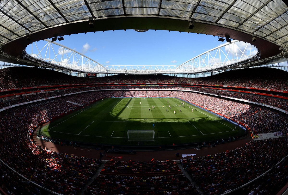 Youngster admits dream of playing at the Emirates stadium