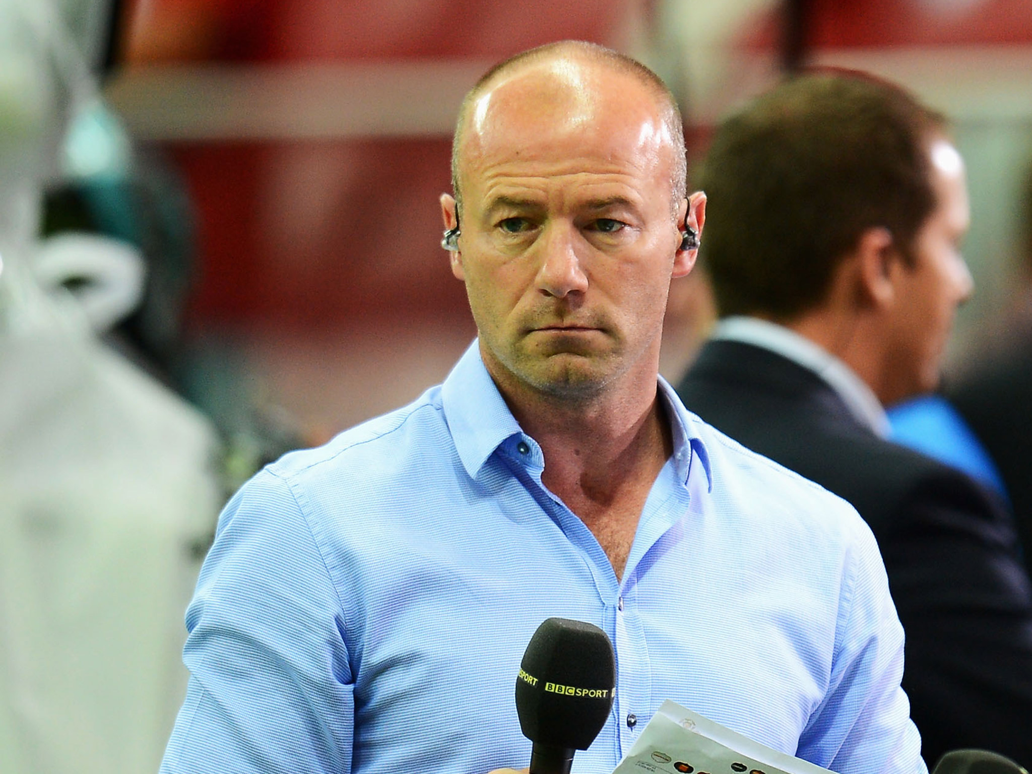 Alan Shearer – This Arsenal man was the best I have played against